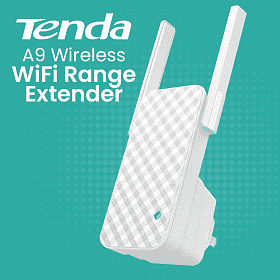 Tenda Universal Range ExtenderWireless Router