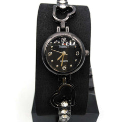 New Black Chain Watch For Girls