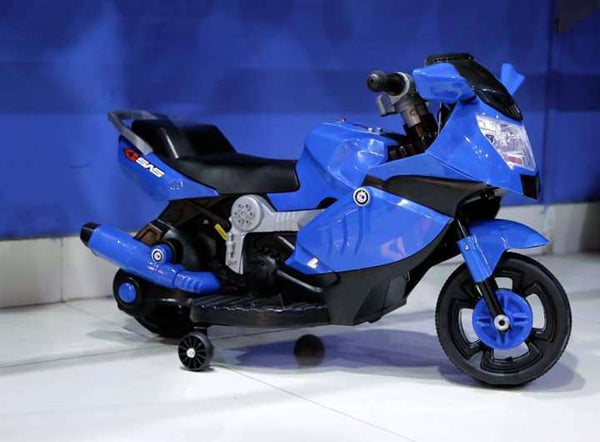 Blue & Black Electric Automatic Bikes