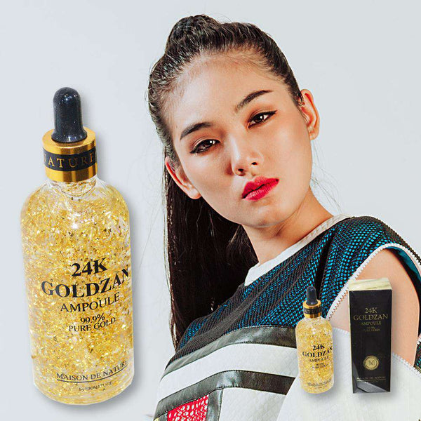 Face Serum 24K Goldzan Ampoule