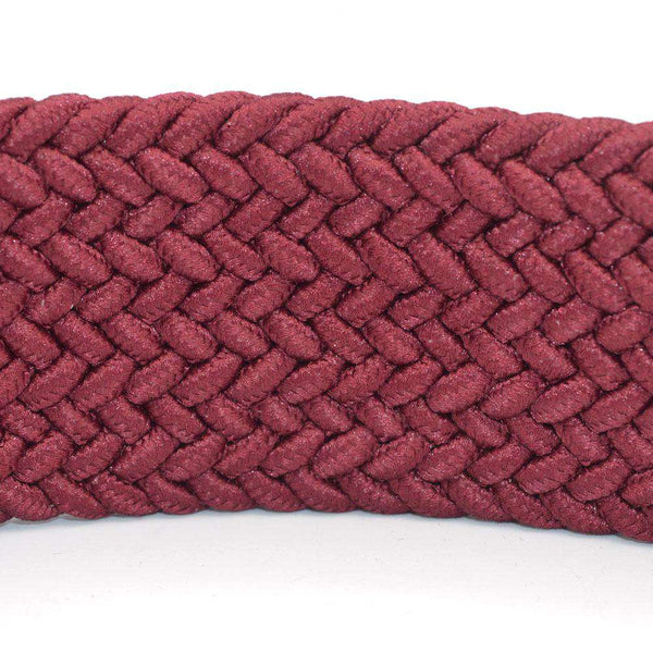 Maroon Stretchable Belt For Boys