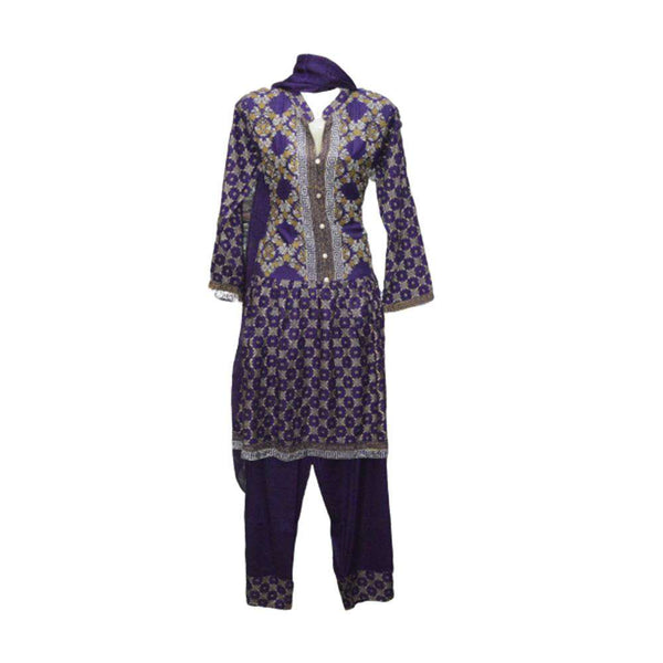 Ladies Lawn Suit Stitched 3 Piece