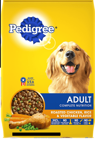 Dog Food Pedigree Roasted chicken & Rice vegetable