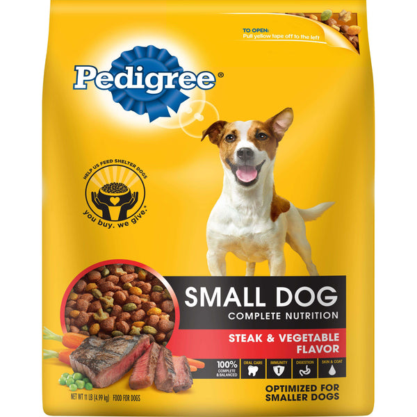 Dog Food Pedigree Small dog Steak Vegetable