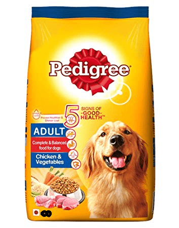 Dog Food Pedigree Chicken Vegetable
