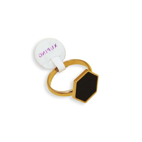 Classy Black Zircon Ring For Men