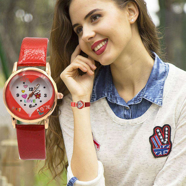 New Hot Love Watch For Girls