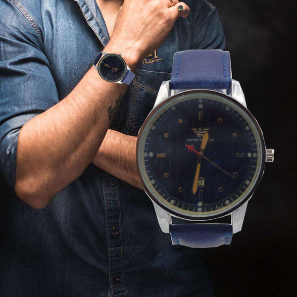 Royal Blue Watch For Men