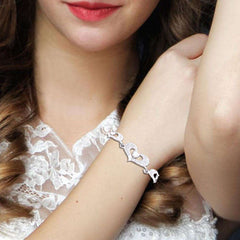 Lovely Heart Shape Bracelet
