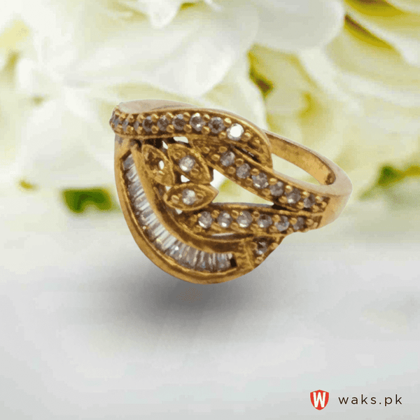Stylish Gold Plated Ring
