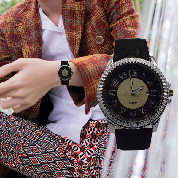Round Shape Dial Watch For Men
