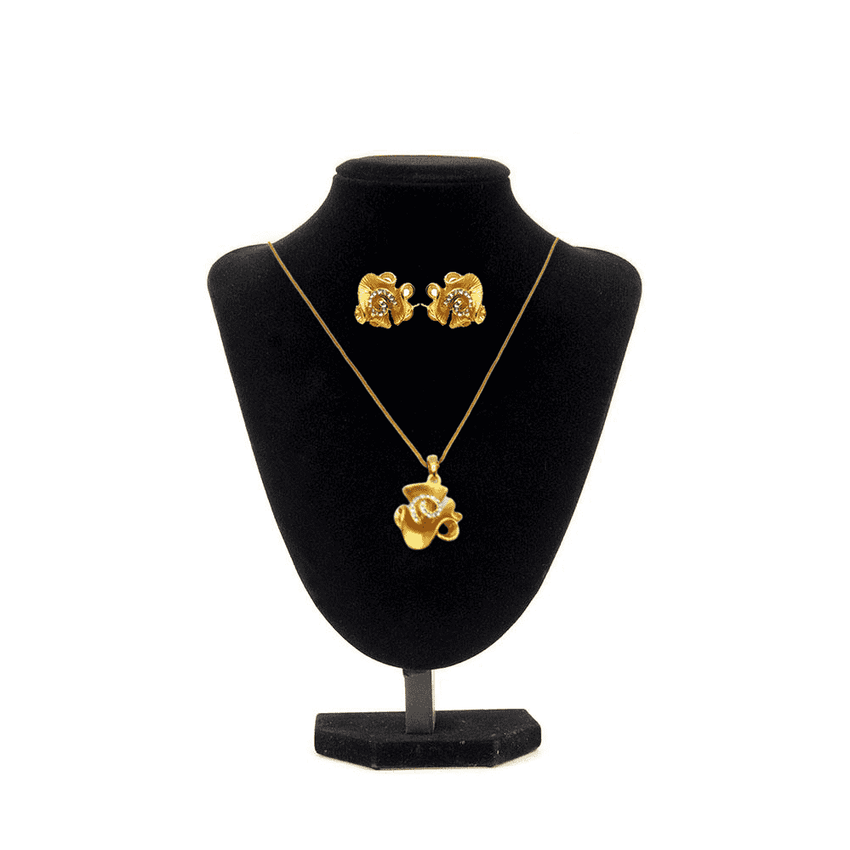 Dubai Gold Color Jewelry Set Brand