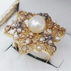 Star Shape Gold Ring