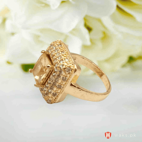 Stylish Square Design Ring