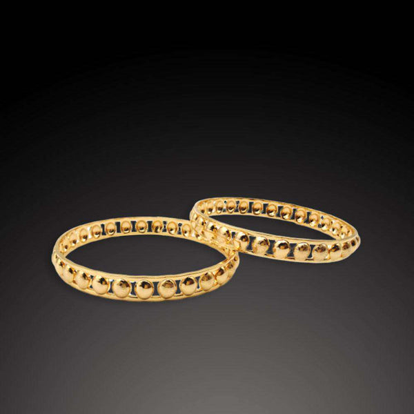 Set of 2 Round shape Pattern Bangles