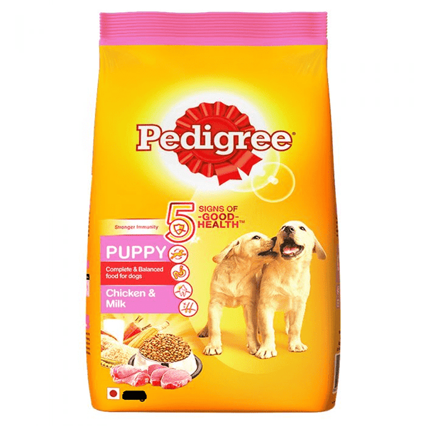 Dog Food Pedigree Chicken Milk