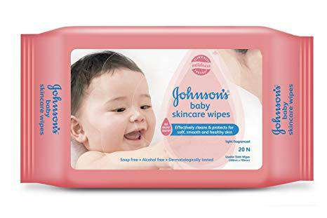 Wipes Johnsons