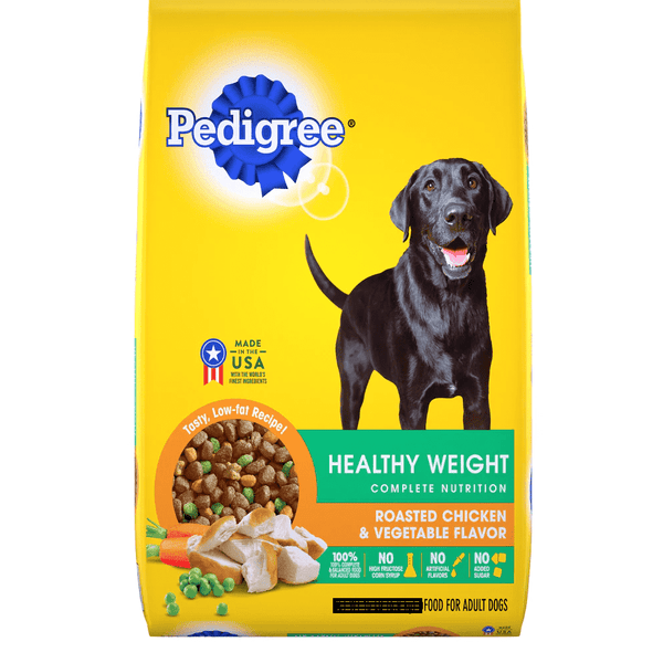 Dog Food Pedigree Healthy Wieght