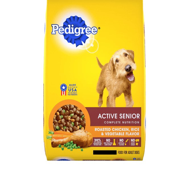 Dog Food Pedigree Active Senior