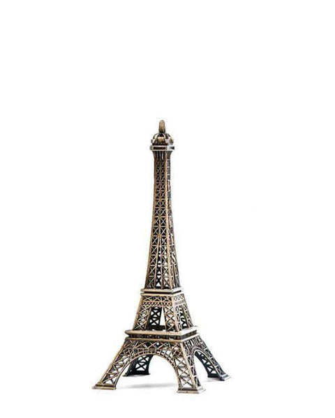 Eiffel Tower Metal Model - 10 Inches