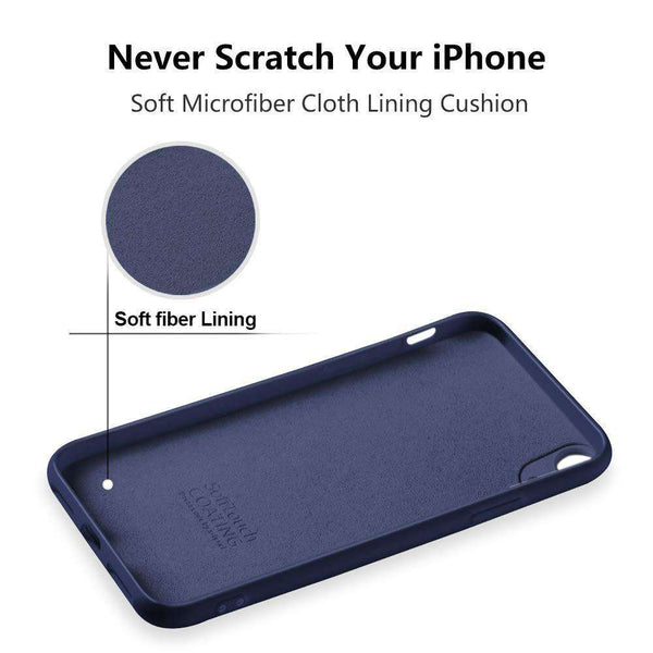 Blue Cover for iphone X