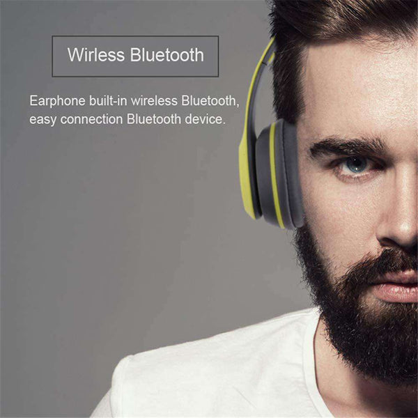 P47 Bluetooth Headphones Wireless Stereo Headset with Microphone