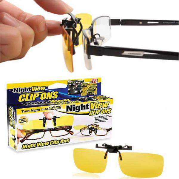 Night view clipons Glasses