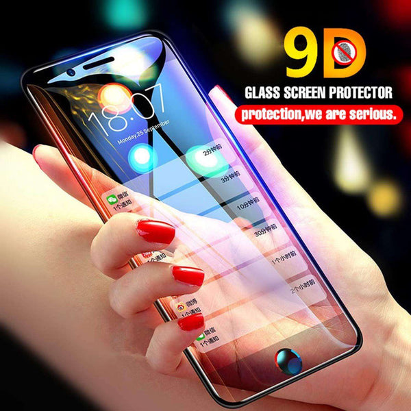 9D Full Cover Tempered Glass for  Iphone 6 plus