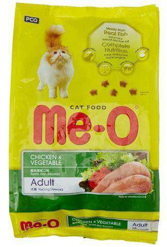 Cat Food Me-O Chiken Vegetable