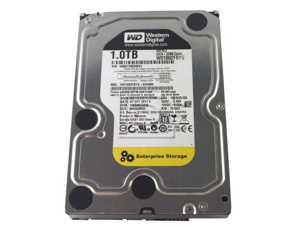 Western Digital Hard disk WD1002FBYS