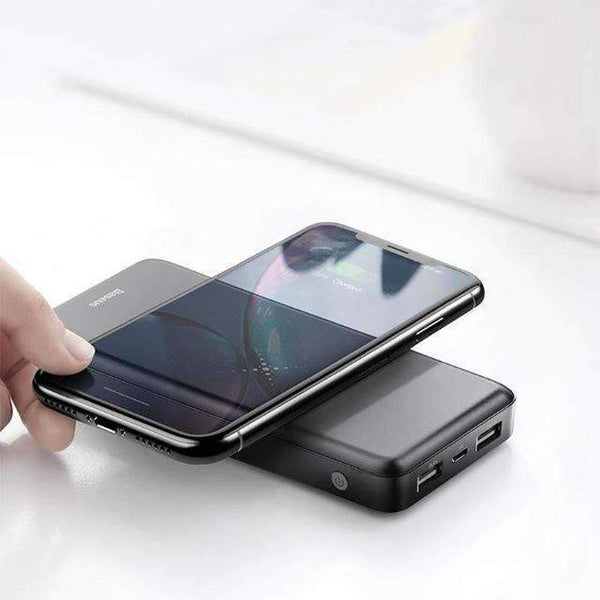 M36 Phone Wireless Charger Dual USB 1000mAh Power Bank