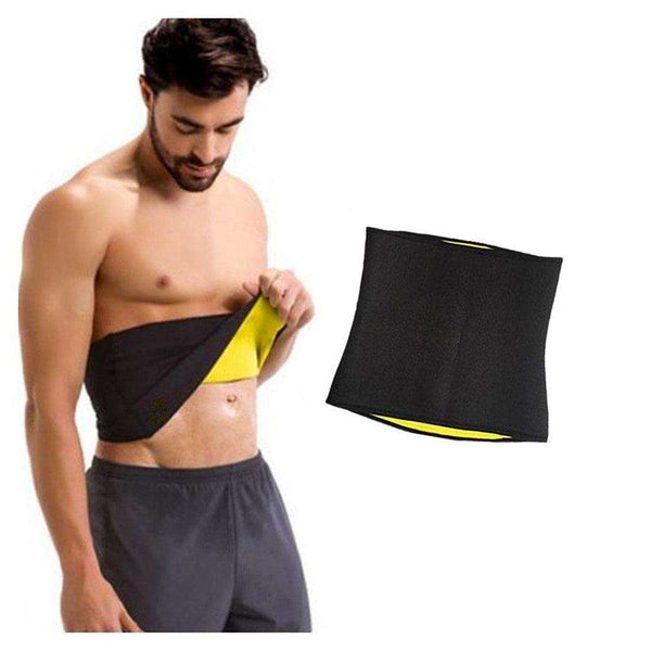 Hot Shaper Waist Slimming Belt - Black