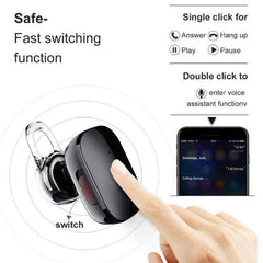 A02 Wireless Bluetooth Earphone Mini Stereo Bass Earbuds Handsfree