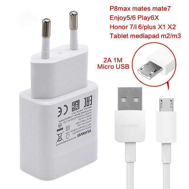 Charger with Micro USB Cable V8 Cable