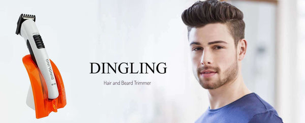 DINGLING RF-606 Men Rechargeable Electric Trimmer Hair