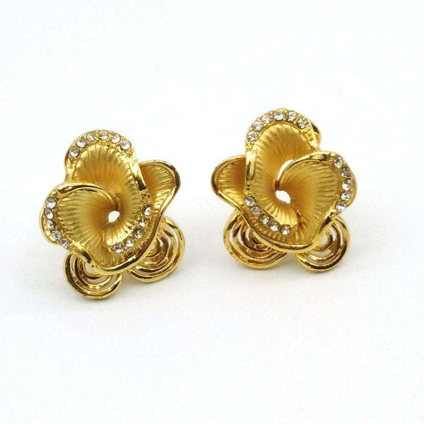 Stainless Steel Earrings - Golden