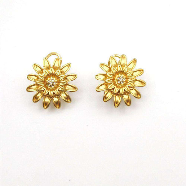 Micro Pave Rhinestone Zircon Earrings