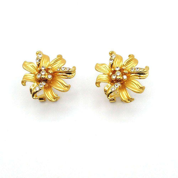 CASUAL WOMEN EARRING GOLD COLOR