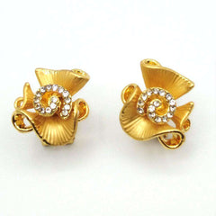 Golden Earrings Pendant Jewelry New Design