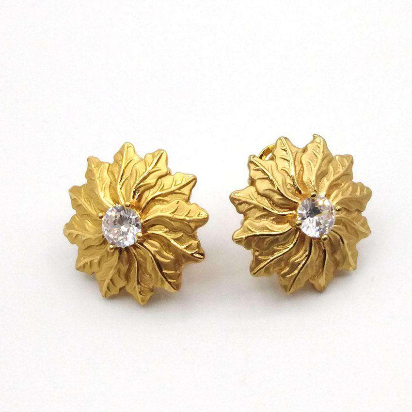 CASUAL WOMEN EARRING GOLD COLOR PLATING