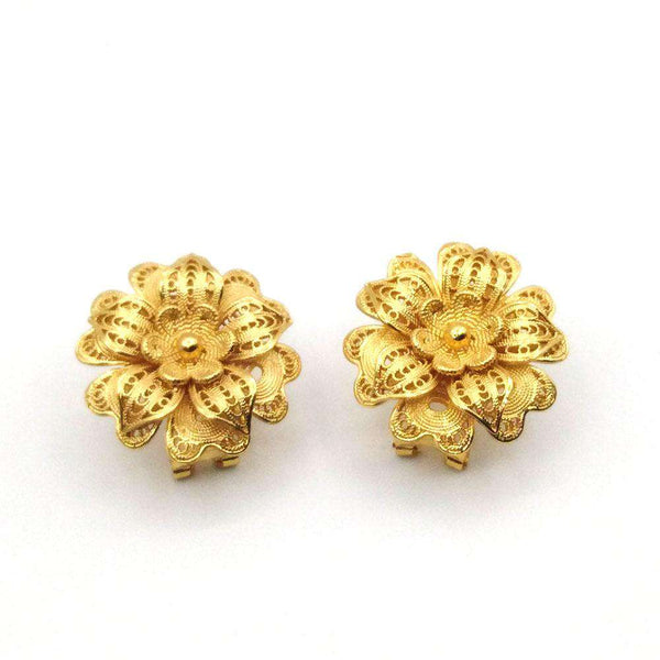 Antique Gold Silver New Design Earrings