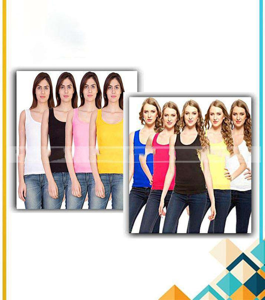 Pack Of 6 – Tank Tops For Women