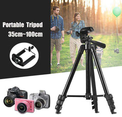 Tripod Universal Portable Digital Camera Camcorder - Black