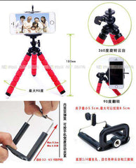Colorful Tripod Stand For Mobiles - Red