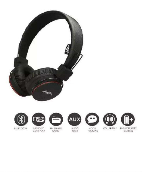 NIA Bluetooth Headphone Q6