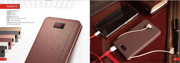 Power Bank For All Devices, 8000 mAh, V3