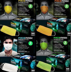 Pack of 50 Masks 3 Layer
