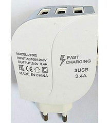 3 USB Port Fast Charger