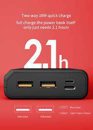 K20 20000 MAH Power Bank