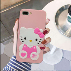 Oppo Pink Hello Kiity Case For A3S